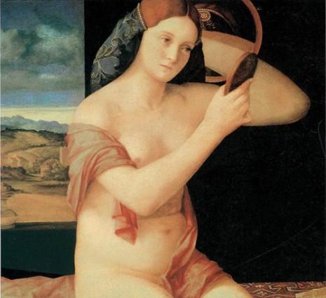 Giovanni Bellini, Devojka sa ogledalom