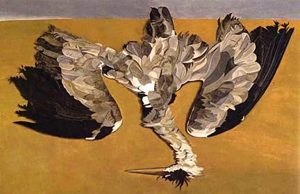Lucian Freud, 'Dead Heron'