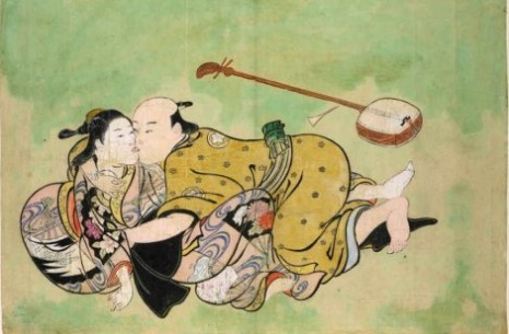 "Nišikava Sukenobu(1671-1750), ""Seksualna razonoda čoveka i gejše"""
