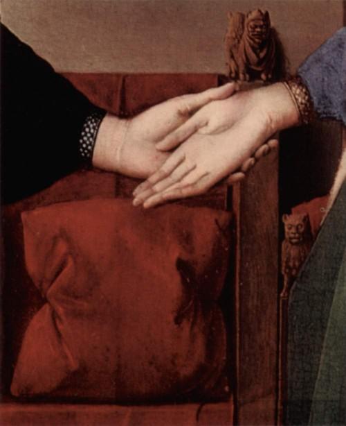 Jan van Eyck, detalj