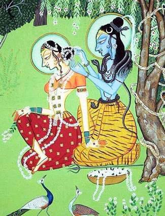 Šakti i Šiva u ikonografiji