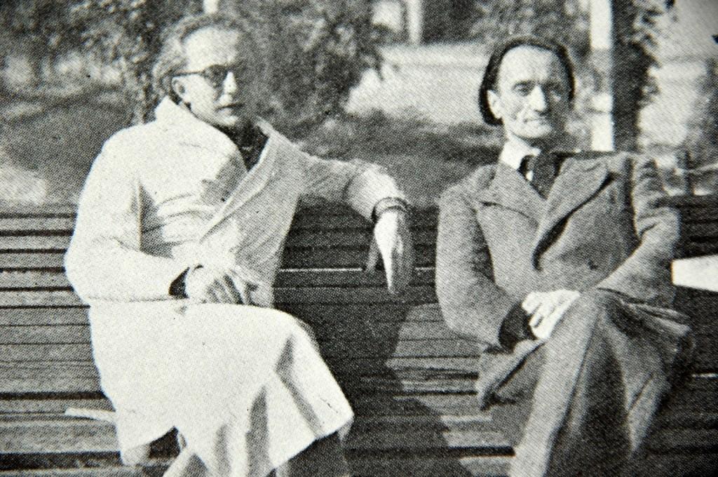 Le docteur Ferdières et Antonin Artaud - 1946 - Rodez