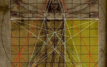 Pentagram, krst, čovek