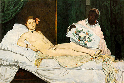 Edgar Degas, Olimpia