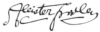 Kroulijev potpis