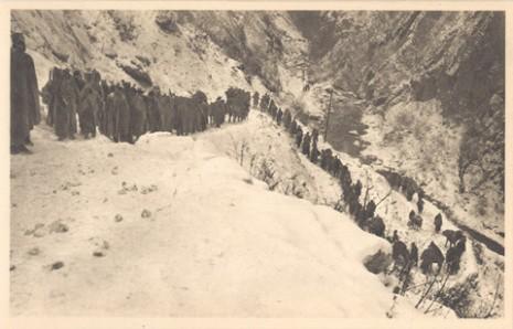 Албанска голгота - Пешачење од Ипека до Адрејевица, 1915.
