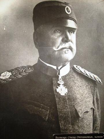 Војвода Степа Степановић пред Колубарску битку.