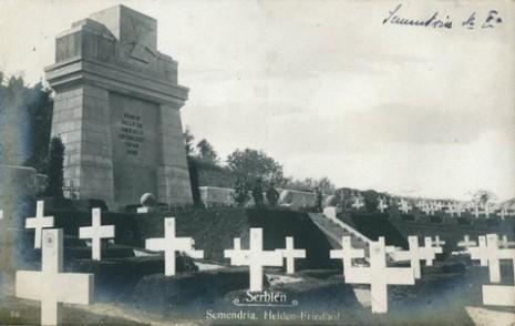 Војничко гробље аустро-угарских војника у Смедереву.
