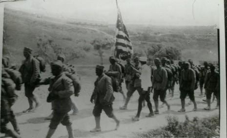 Долазак српских добровољаца из САД на Солунски фронт, у борбене редове војске матичне Краљевине Србије.