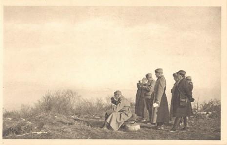Краљ Петар на фронту, 1914.