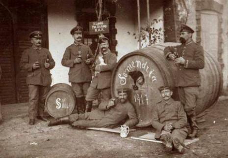 Окупатори у Смедереву, 1917.