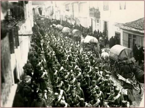 Српска војска се мобилише за Велики рат.