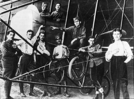 Српски авио-механичари, 1916.
