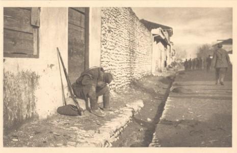 Српски војник у егзилу, 1915.