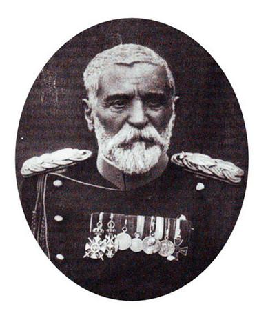 Српски генерал, војсковођа и војвода Радомир Путник.