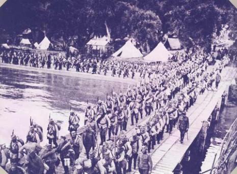 Тимочка дивизија у повратку са Солунског фронта.