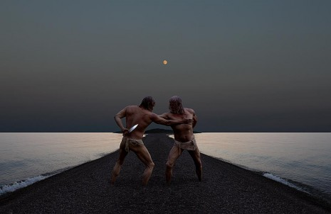 "Misha Gordin, iz serije fotografija ""Brother"""