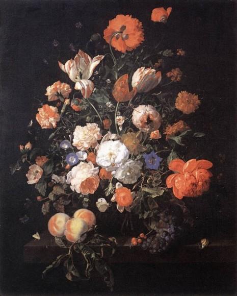 Rachel Ruysch - A Vase of Flowers