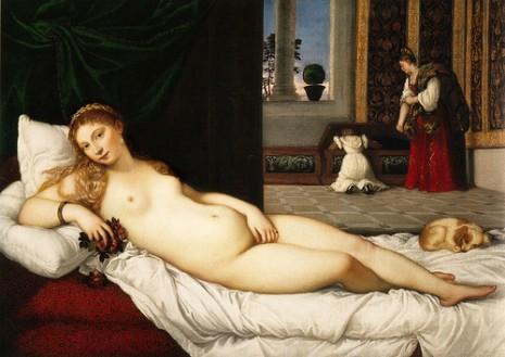 Titian, Venus Urbino, 1538