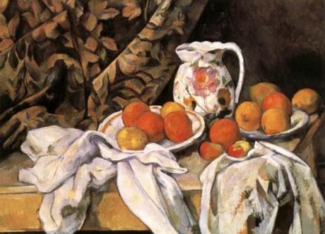 Paul Cezanne - Rideau Pichet
