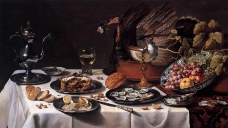Pieter Claesz - Tabletop Still Life