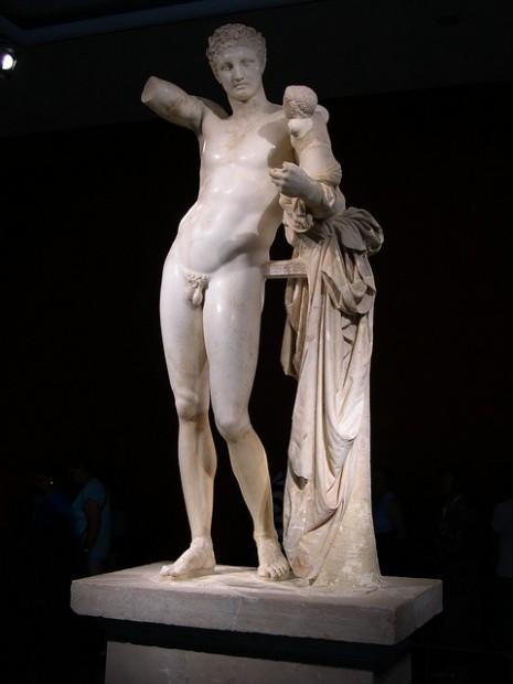 Hermes, Praksitel, 480-320 p.n.e