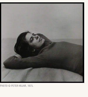 susan sontag photo peter hujar