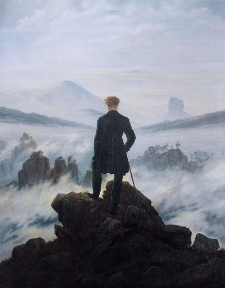 (Lutalica nad morem magle, Kasper Fridrih David)