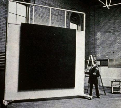 Mark Rothko in his studio