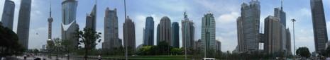 Panorama CBD u Šangaju