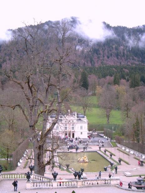 Zamak Linderhof ; fotografija: Divna Vuksanović