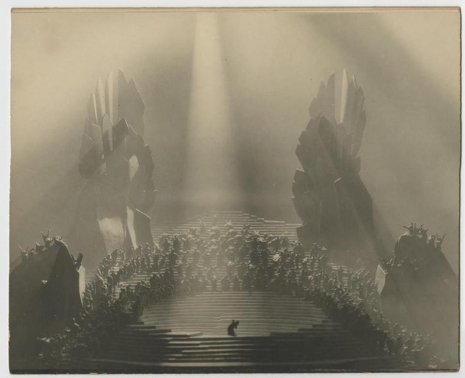 Norman Bel Geddes -Conception of Dante'-Divine Comedy (1921 Theatre)