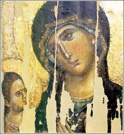 Bogorodica Odigitrija – Hilandar XIII vek