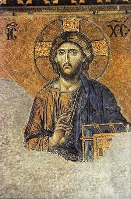 Isus Hrist – mozaik iz Aja Sofije