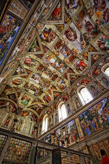 Mikelanđelov rad na Sikstinskoj kapeli po Đorđu Vazariju