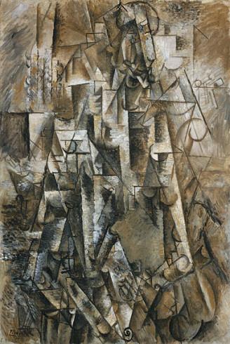 Pablo Picasso, 1911, Песник (Le_poète)