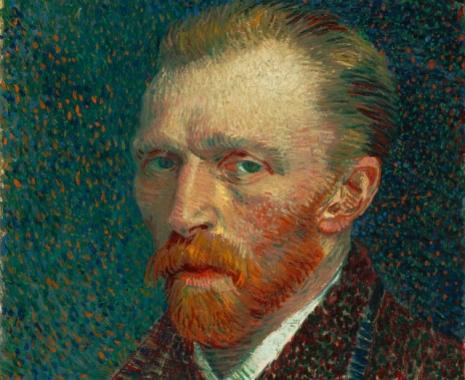 Van Gog - Autoportret (1887)