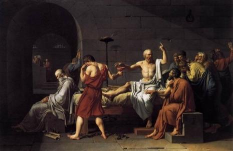 Žak Luj David Sokratova smrt