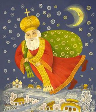 Božić-Bata-ili-Sveti-Nikola-Mirlikijski-kao-Deda-Mraz