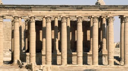 Hatra, ruševine u pustinji