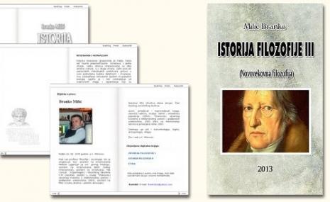 Istorija filozofije III