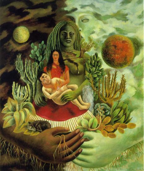 Frida Kalo i boginja Cihuacoatl: Utroba nemilosrdne