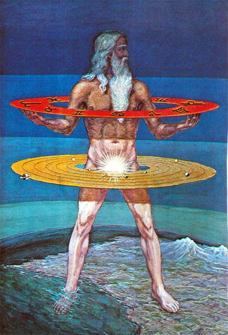 Adam Kadmon (אדם קדמון), prvobitni svečovek