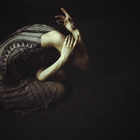 "Josephine Cardin, ""Fractured moonlight """