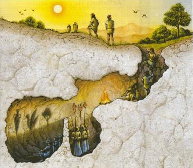Alegorija pećine, Platon
