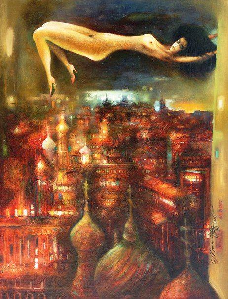 Margarita over Moscow - Sergey Mosienko
