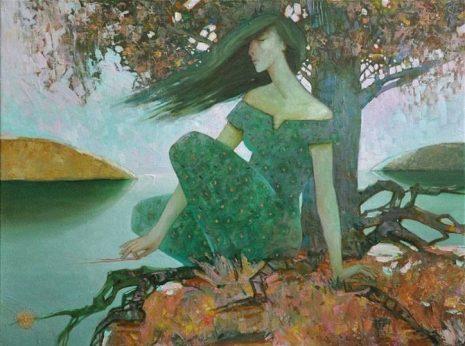 Zelena devojka na sprudu - Pina Belvisi