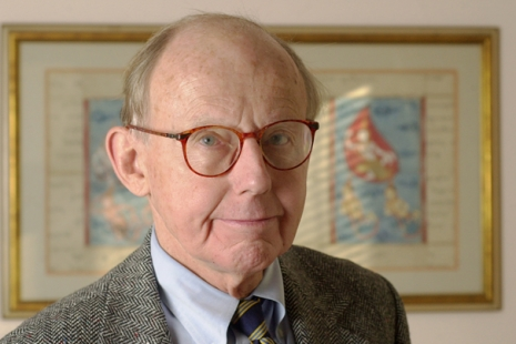 Samuel Huntington, Harvard Univeristy's Albert J. Weatherhead University Professor. Staff Photo Jon Chase/Harvard University News Office