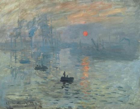 """Klod Mone, """"Impresija: zalazak sunca"""" (Foto: wartburg.edu / Wikimedia Commons)"""