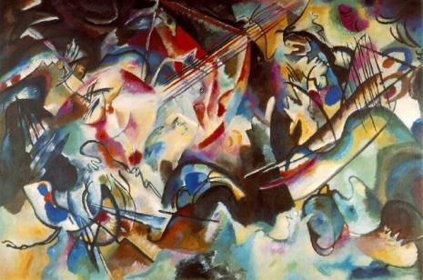 "Vasilij Kandinski, ""Kompozicija VI"" (Foto: Hermitage Museum / Wikimedia Commons / Public Domain)"